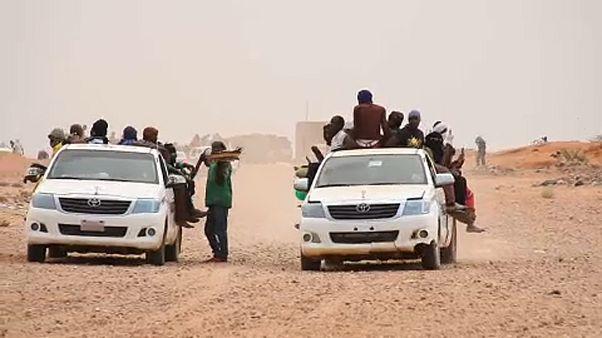 Sin apenas migrantes la región nigerina de Agadez lucha por salir adelante