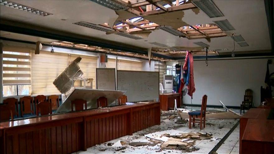 "Тайфун ""Мангхут"" оставил Филиппины в руинах"