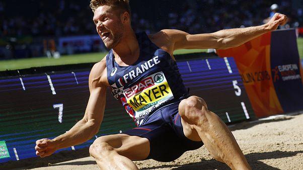الفرنسي كيفن ماير يحطم الرقم القياسي العالمي في العشاري بـ 9126 نقطة