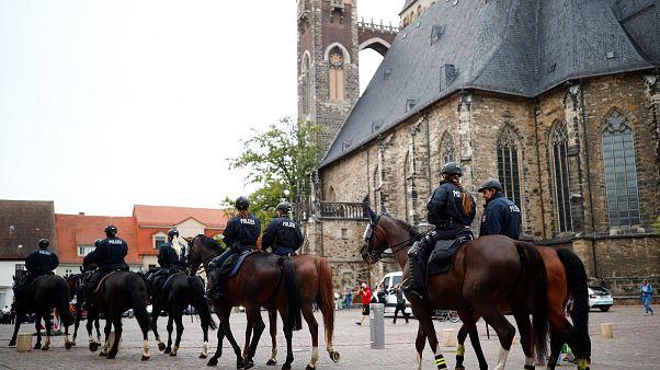 Demonstrationen in Köthen