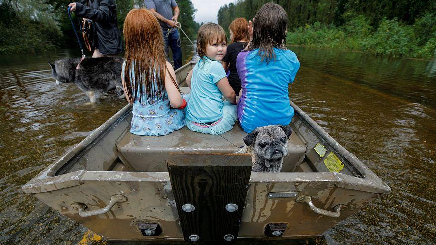"""Fluten in den USA: """"So etwas habe ich noch nie gesehen"""""""