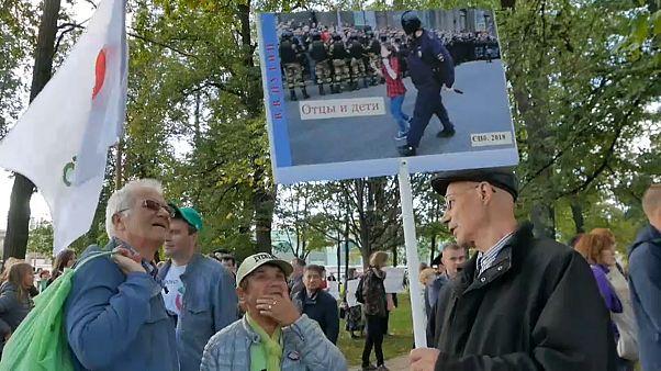 Санкт-Петербург: объединение протестов