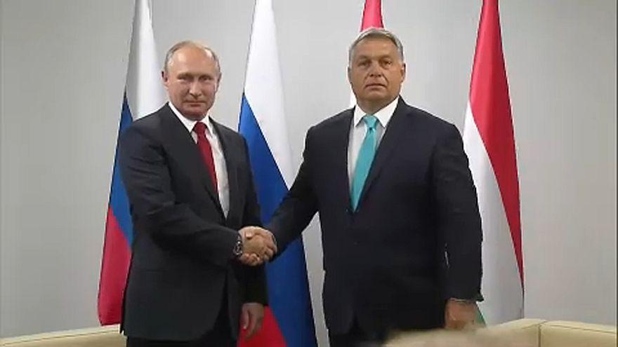 Putyin ismét fogadja Orbánt