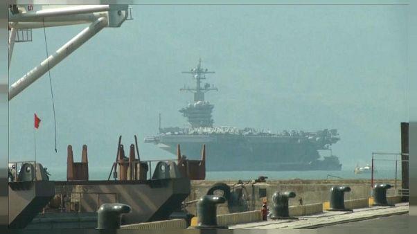 Güney Çin Denizi'nde ilk kez bir Japon denizaltının katıldığı tatbikat yapıldı