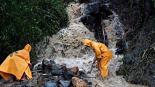 Casi un centenar de personas sepultadas en una mina de Filipinas