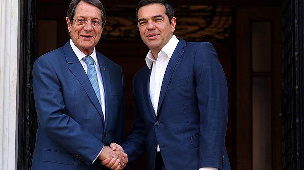 Συνάντηση Αναστασιάδη – Τσίπρα στην Αθήνα για προετοιμασία ενόψει Νέας Υόρκης