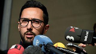 Spanischer Rapper Valtonyc (24) feiert Entscheidung von Belgiens Justiz