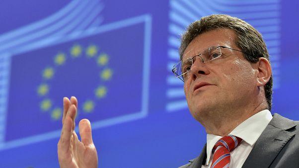 Le vice-président de la Commission européenne Maros Sefcovic