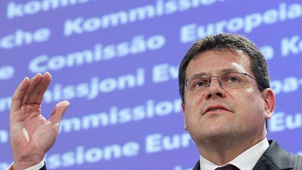 Maros Sefcovic se postula para presidir la Comisión Europea