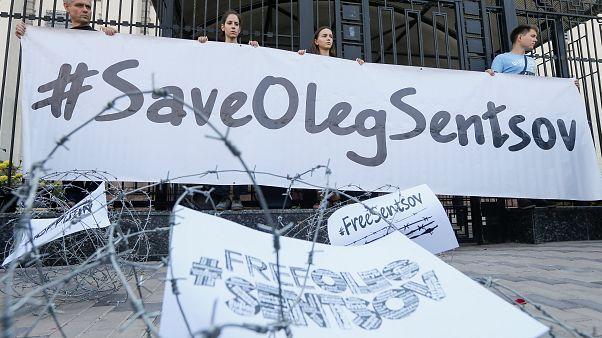 La France se mobilise pour le cinéaste ukrainien Sentsov