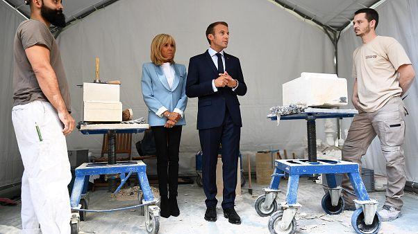 """Macron zu arbeitslosem Gärtner: Für Jobs muss man """"nur über die Straße gehen"""""""