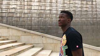 Reward Okoh, o último migrante a sair do Aquarius
