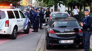 Man is critically injured after Belgian police shoot at him