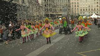 Bienal de Danza de Lyon: Desfile por la paz entre fuertes medidas de seguridad