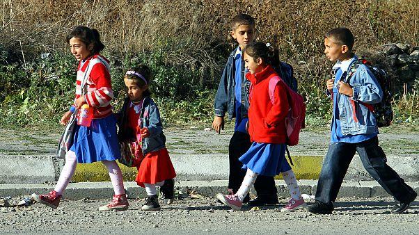 Ardahan'da öğrenciler ders başı yaptı