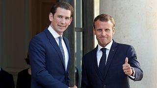اشتراک نظر صدراعظم اتریش و رئیس جمهوری فرانسه درباره مهاجرت