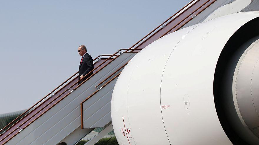 Ο Ερντογάν και το πολυτελές αεροπλάνο δώρο του εμίρη του Κατάρ!