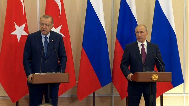 Russland und die Türkei einigen sich auf entmilitarisierte Zone in Idlib