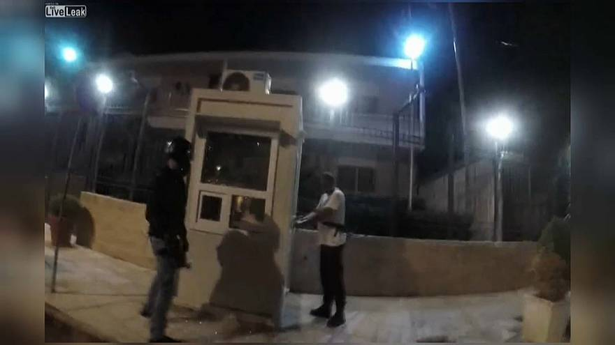 Анархисты напали на посольство Ирана в Афинах