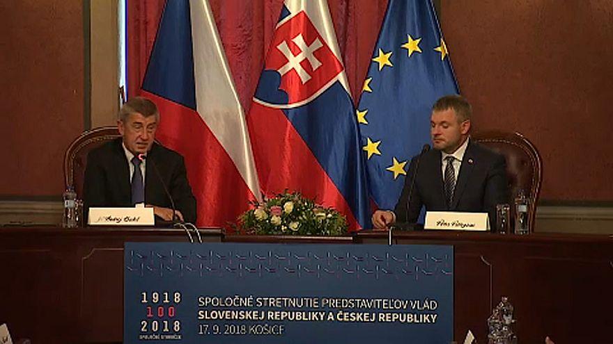 Cseh-szlovák kormányülés