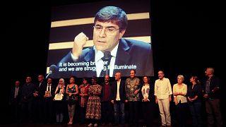 Hrant Dink ödülü Murat Çelikkan ve Yemenli Mwatana İnsan Hakları Örgütü'nün