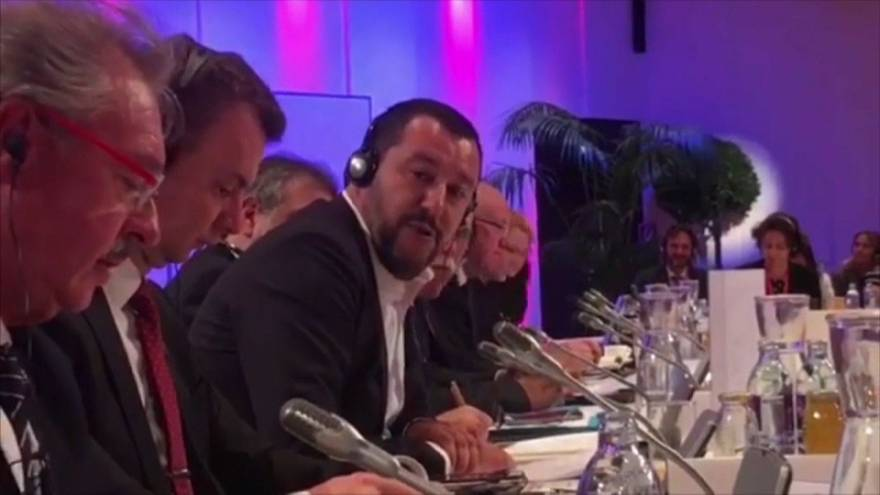 Raw Politics: the moment Luxembourg foreign minister took on Salvini