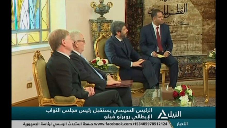 رئيس مجلس النواب الإيطالي في القاهرة..  وقضية ريجيني في صلب المحادثات
