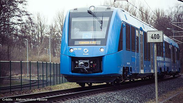 Le premier train à hydrogène bon pour le service en Allemagne