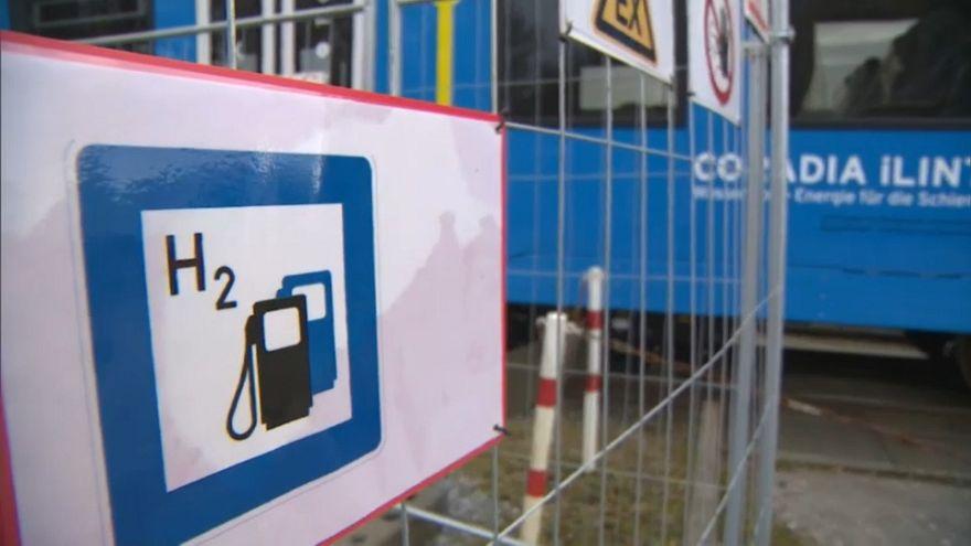 Emissionsfrei: Erster Brennstoffzellenzug rollt in Niedersachsen