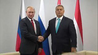 Putin due to host Hungary's far-right leader Viktor Orban