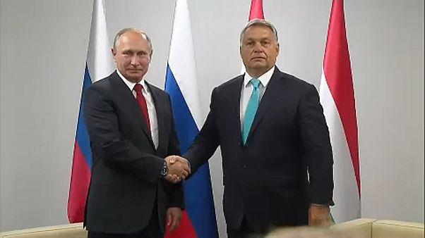 Kedden újra találkozik Putyin és Orbán