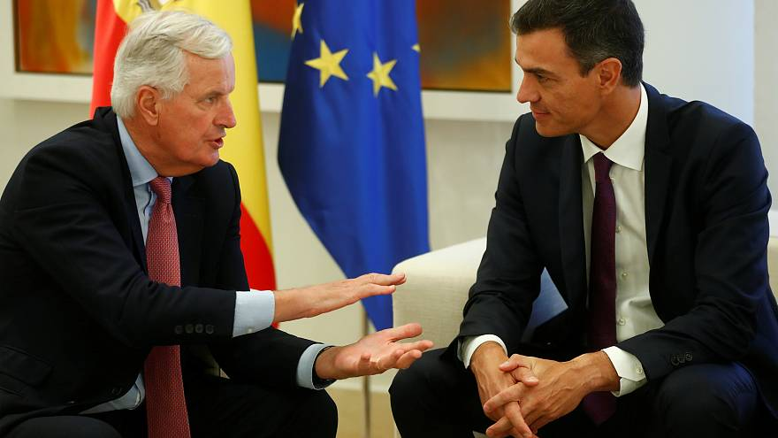 Barnier talks with Spain about Gibraltar ahead of Brexit