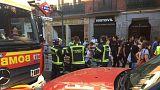 شاهد: انفجار حاسوب يثير الذعر في مترو مدريد