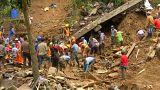 مخاوف من مقتل 100 شخص تحت أنقاض انهيار أرضي جراء إعصار الفلبين