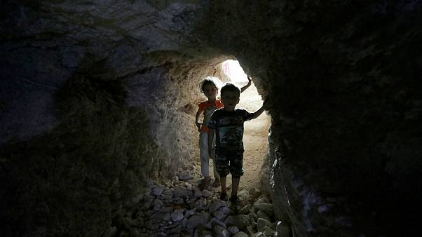 ادلب سوریه؛ بمباران، غار و پناهگاههای زیرزمینی