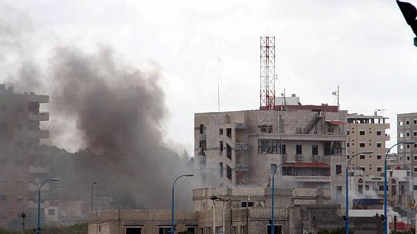 Suriye'nin Lazkiye kentine füze saldırısı