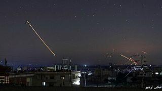 حمله موشکی به لاذقیه؛ انهدام چندین موشک توسط پدافند هوایی سوریه