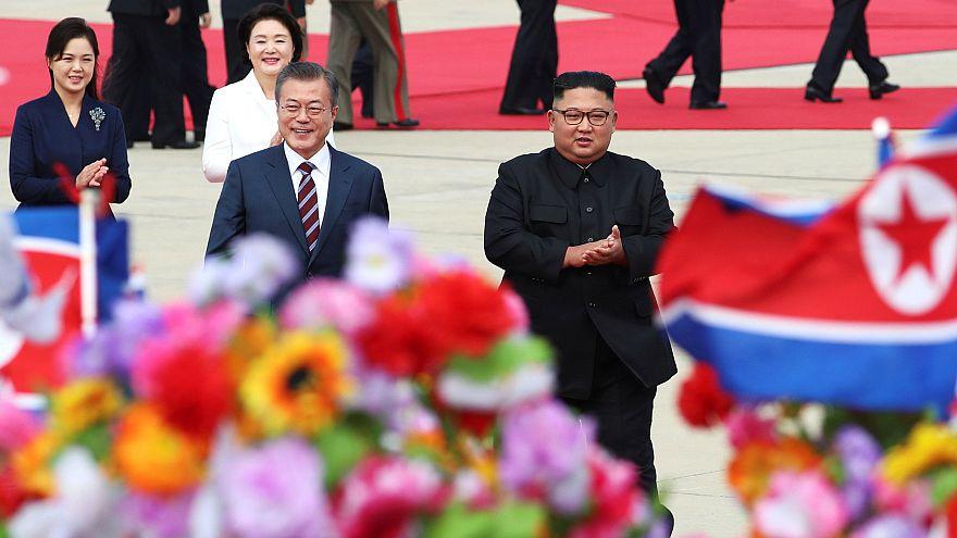رئیس جمهوری کره جنوبی وارد پیونگیانگ شد