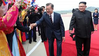 Auf Gratwanderung: Moon trifft Kim in Pjöngjang