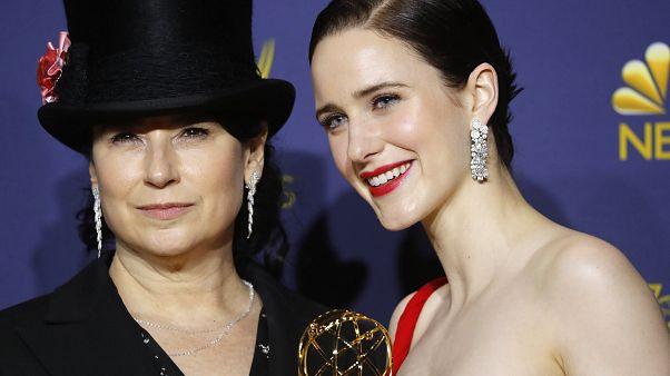 "Emmy Ödülleri'ne ""The Marvelous Mrs Maisel"" damga vurdu"