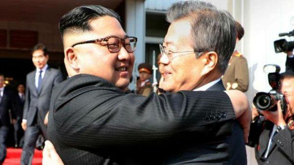 Koreli liderler üçüncü tarihi zirve için Pyongyang'da biraraya geldi