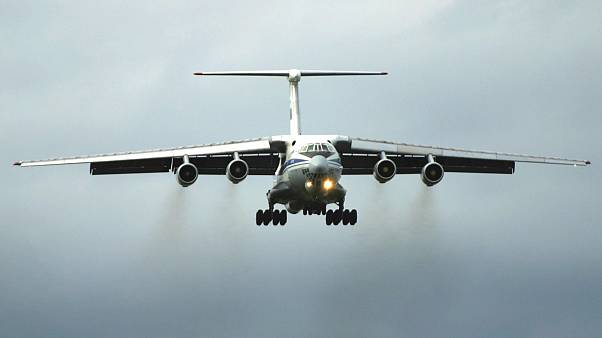 تصویر آرشیوی از یک فروند هواپیمای باری ایلوشن۷۶ روسیه