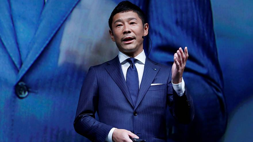 Japanese billionaire Yusaku Maezawa to become first space tourist ...