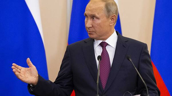 Vladimir Putin yesterday discussed the war in Syria with Turkey's president