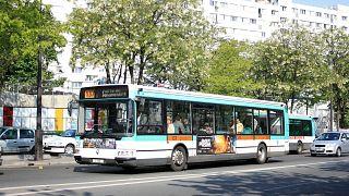 A RATP bus.