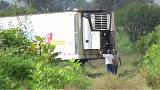 The truck was found in an open field near Tlajomulco de Zuniga in Jalisco.
