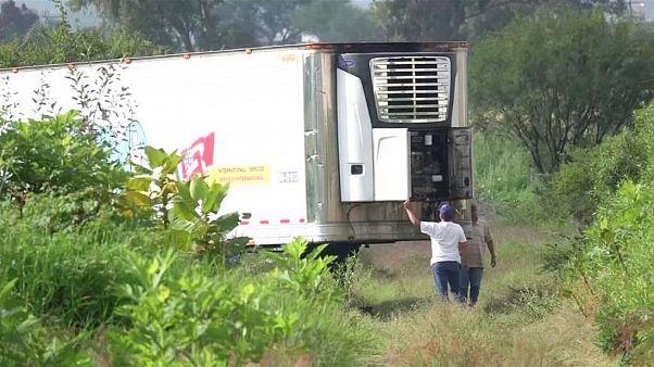 The truck was found in an open field near Tlajomulco de Zuniga in Jalisco.