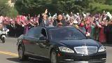 11 év után Phenjanba érkezett Dél-Korea elnöke