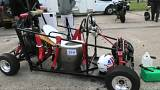 Watch: Jet-powered shopping trolley and motorised toilet let rip in speed trials
