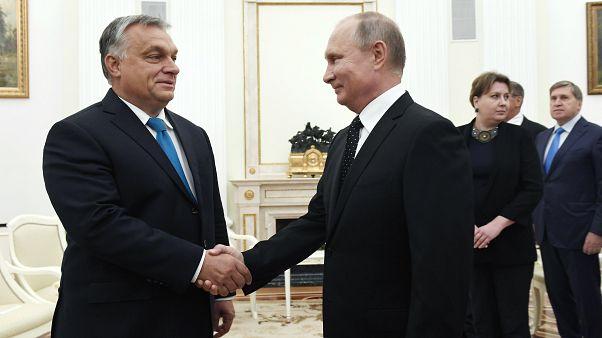 Putyin: Magyarország Oroszország egyik kulcspartnere Európában